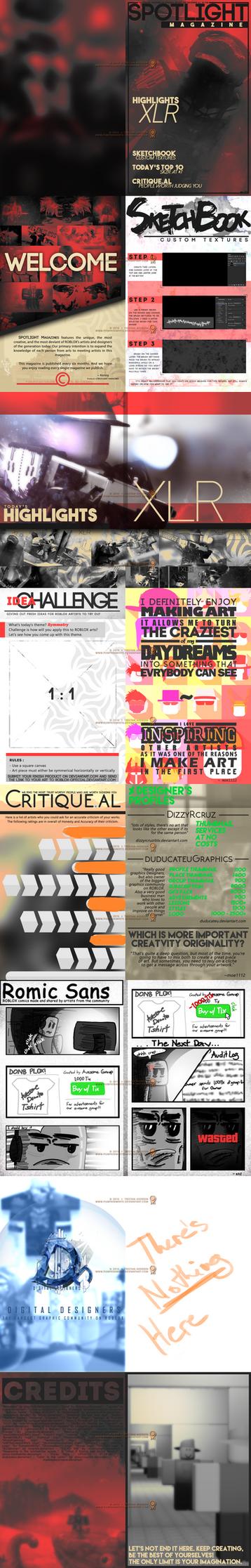 [UNPUBLISHED-UNFINISHED] SPOTLIGHT Magazines by PumpkinWhite