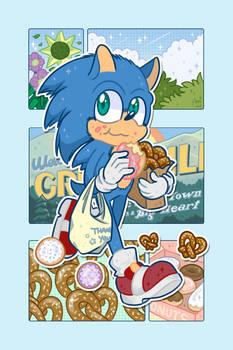 Pretzels and Donuts