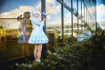 Weiss Schnee cosplay - Mirror, Mirror... by Juriet