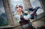 Ciri (The Witcher III cosplay)