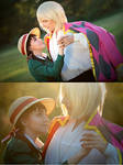 Howl and Sophie cosplay by Juriet