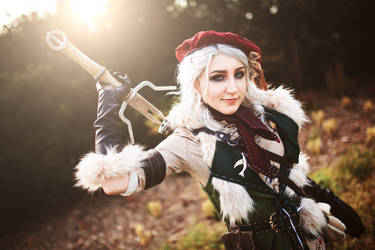 Young Ciri (Falka) from the Witcher books by Juriet