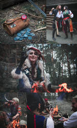 Ciri/Falka and The Rats - The Witcher book cosplay by Juriet