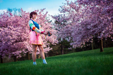 Palanquin D.Va from Overwatch by Juriet Cosplay by Juriet