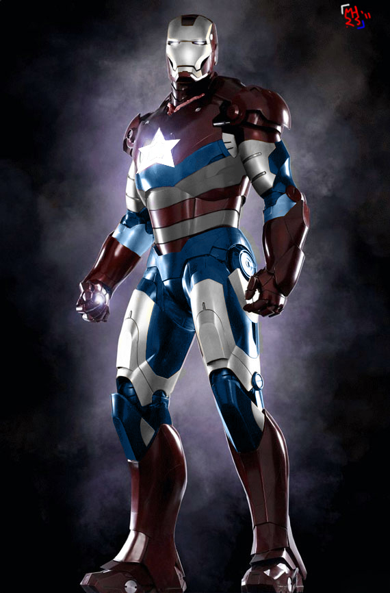 Iron Patriot by MrHard...