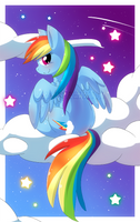 Rainbow Dash by Staarbits
