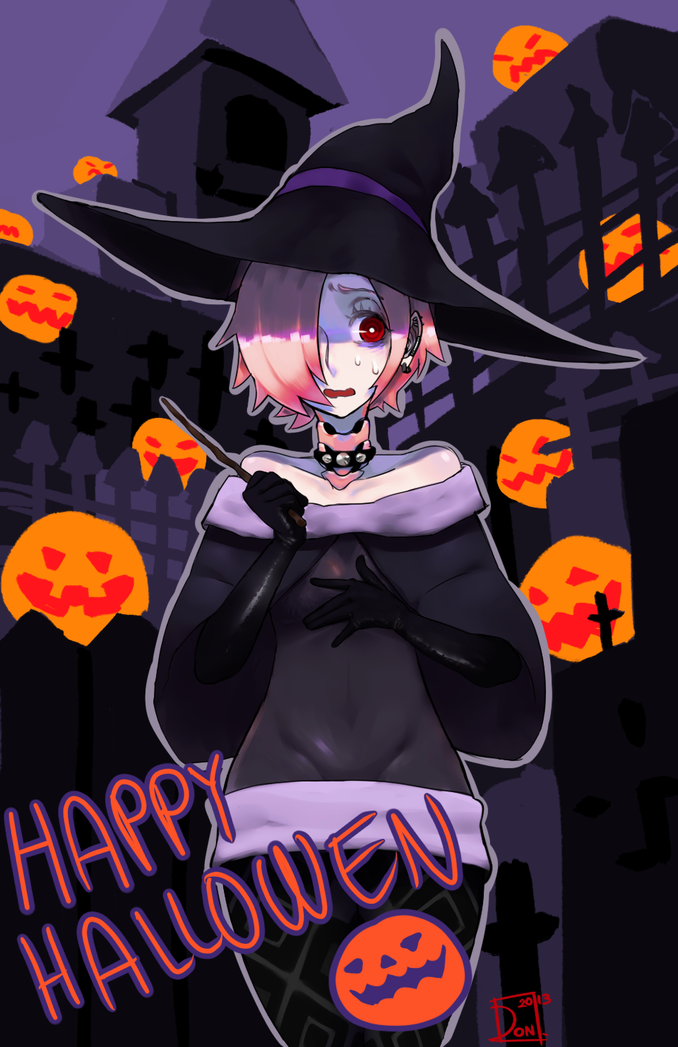 Spooky witches and pumpkins by Taiikodon on DeviantArt