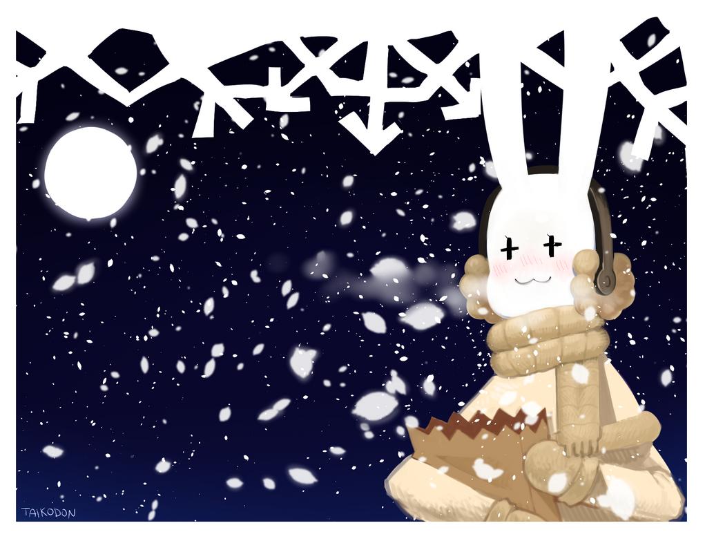 winter night by Taiikodon