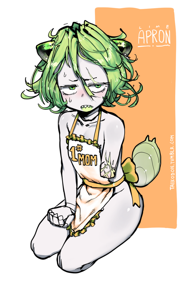 lime apron by Taiikodon