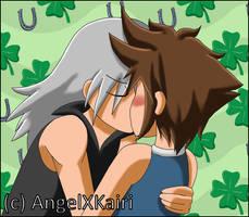 Kiriban Prize - SoRiku Kissing