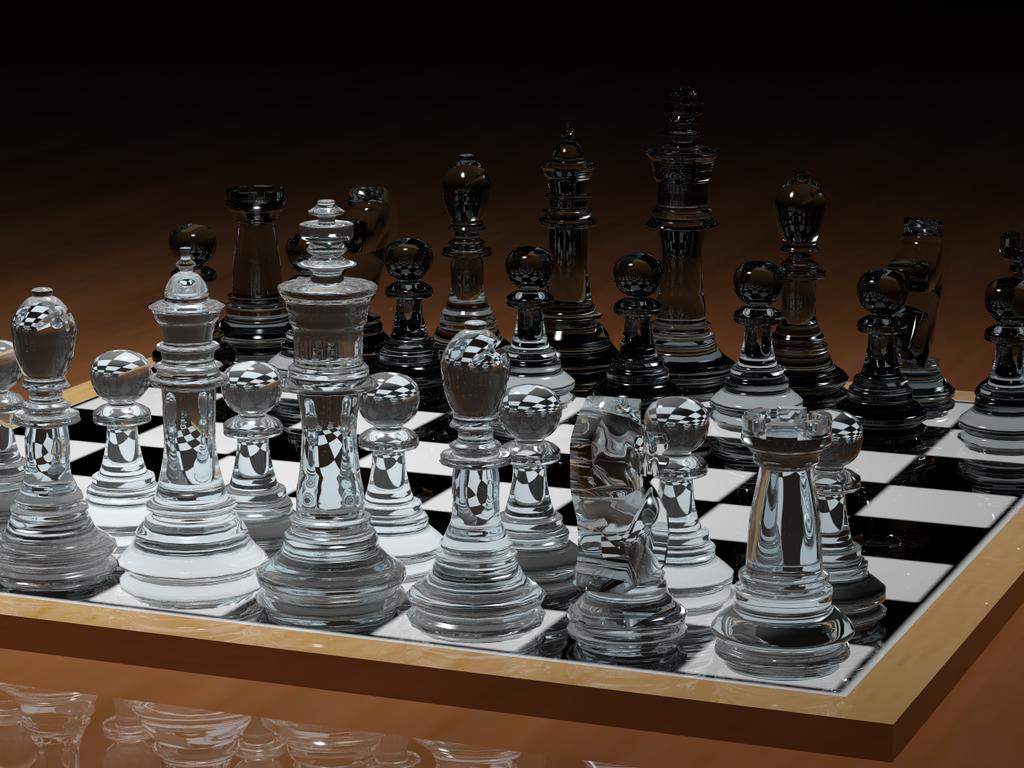3d Chess Set By Angelshizuka On Deviantart