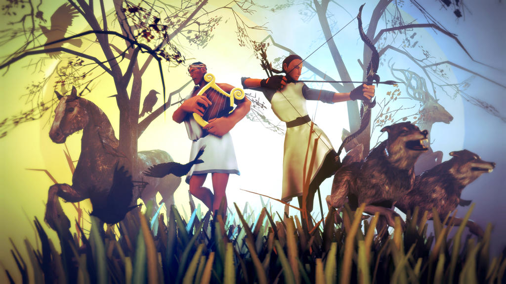 an introduction to the mythology of apollo and artemis Artemis goddess of the hunt, forests and hills, the moon when artemis and apollo heard this impiety, apollo killed her sons as they practiced athletics.
