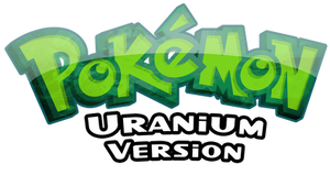 Pokemon Uranium Logo - New
