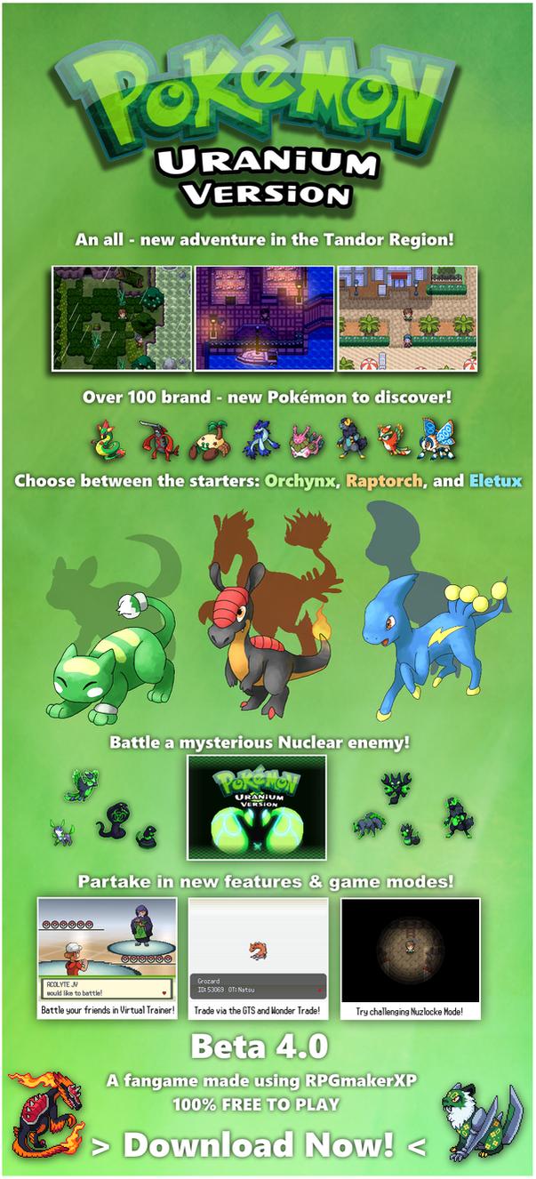 Pokemon uranium starters - 029a