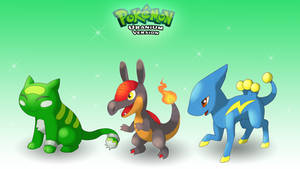 Choose Your First Pokemon!