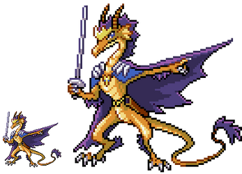 [Pixel] Royal Dragon Sovern