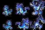 [Fakemon] Sea Serpents