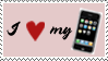 iPhone Stamp by rlhcreations