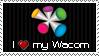 I Love my Wacom Stamp