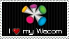 I Love my Wacom Stamp by rlhcreations