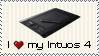 I Love my Intuos 4 Stamp by rlhcreations