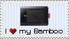 I Love My Bamboo Pen and Touch by rlhcreations