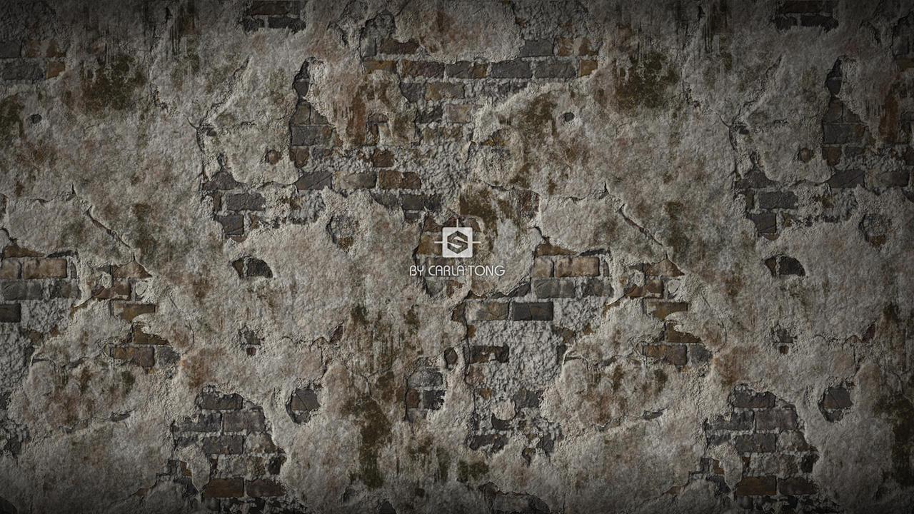 Broken Wall Wallpaper 01 By Carlatang On Deviantart
