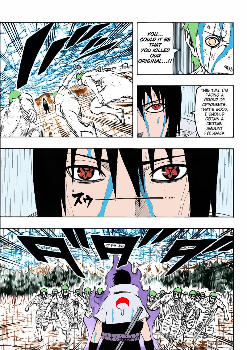 Naruto 574 Sasuke vs White Zetsu by KorayNaruto