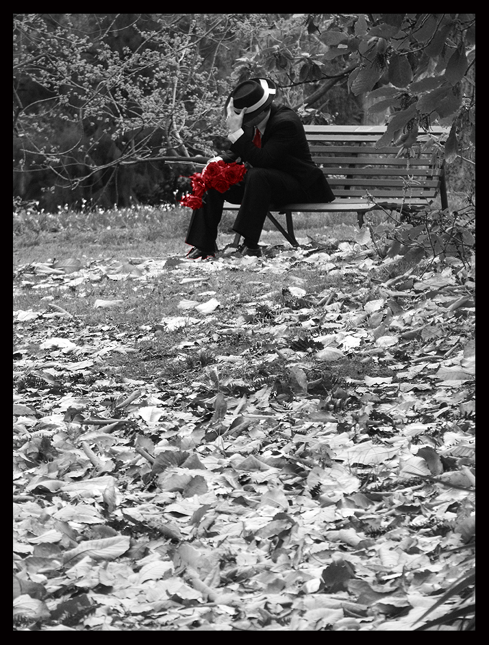 Red Black White - 3 by Lilithia