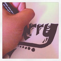 Drawing Typography Art