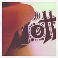 Still drawing typography art.
