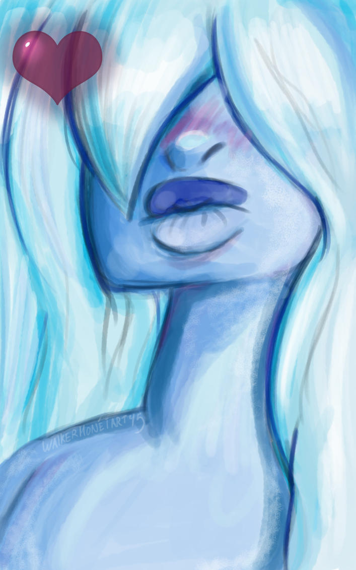 Sapphire by WalkerMonetArt