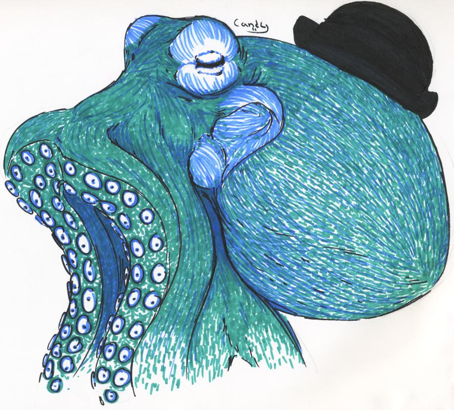 Sir Cephalopod by insanefastone