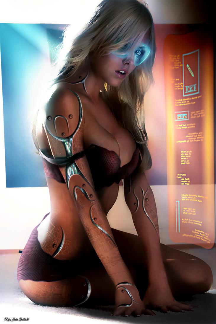 sci-fi women warrior woman girl girls futuristic artwork wallpaper ...