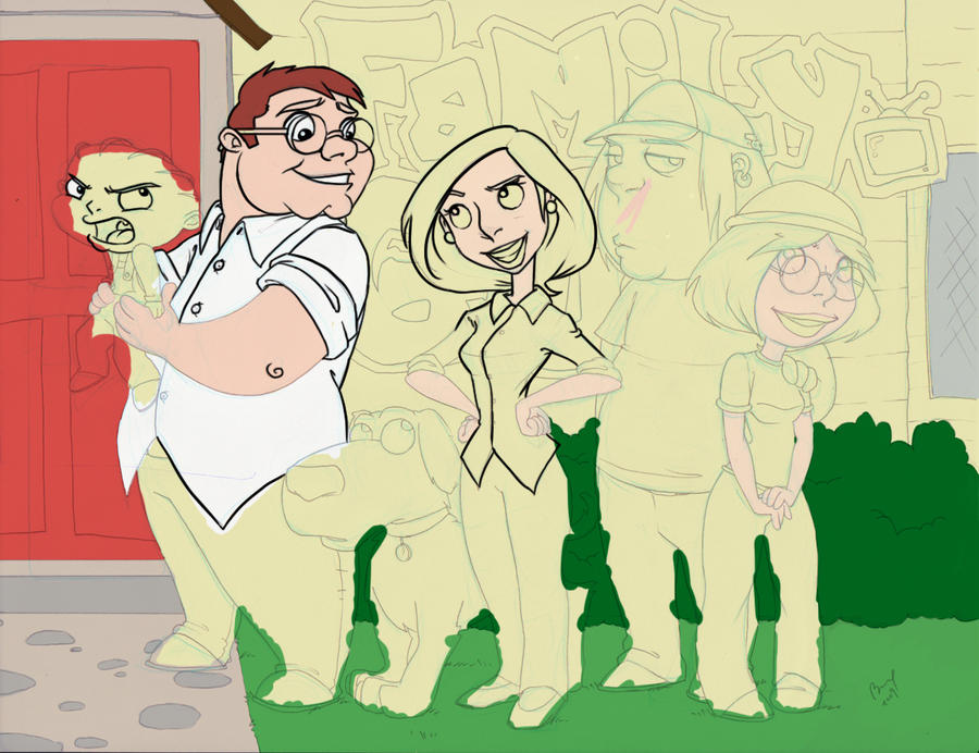 Family Guy - WIP by Boramy