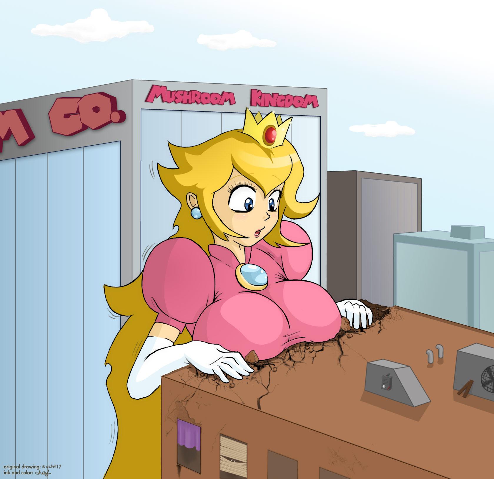 Giantess princess peach hentay videos