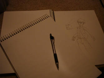 Drawing pads + pencil by Sucht17