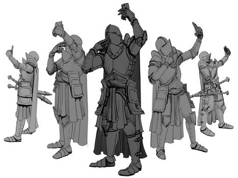 Perspective Knight Studies