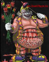 Porky The Clown by DrPayne