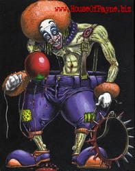 Stretch The Clown by DrPayne