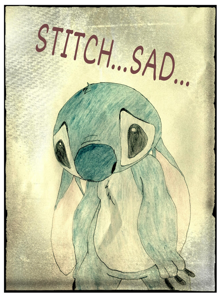 sad stitch wallpaper is - photo #25