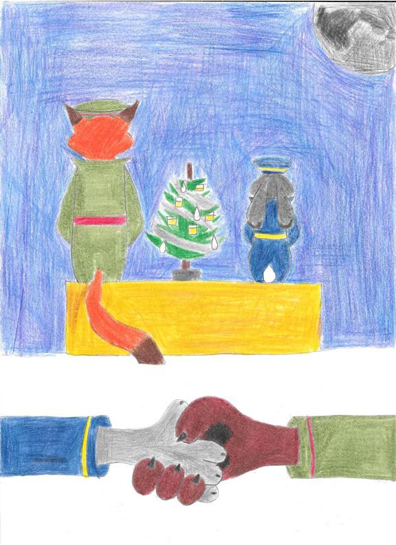 Zootopia: Joyeux Noel by NVCAtakeo24