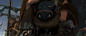 Gaze of Toothless -scr-