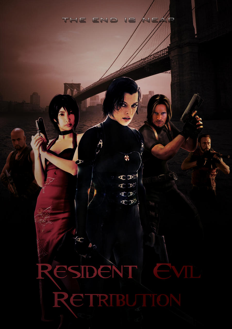 Resident Evil Retribution Fan Poster By Tsukasa1608 On Deviantart