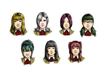 High school's original characters 2 by tsukasa1608