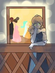 Bored at the ball by AnimeKittyX3