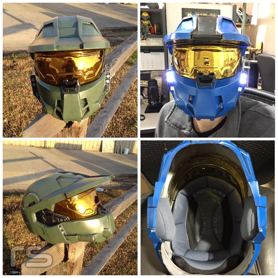 Halo Forward Unto Dawn Master Chief Helmet By