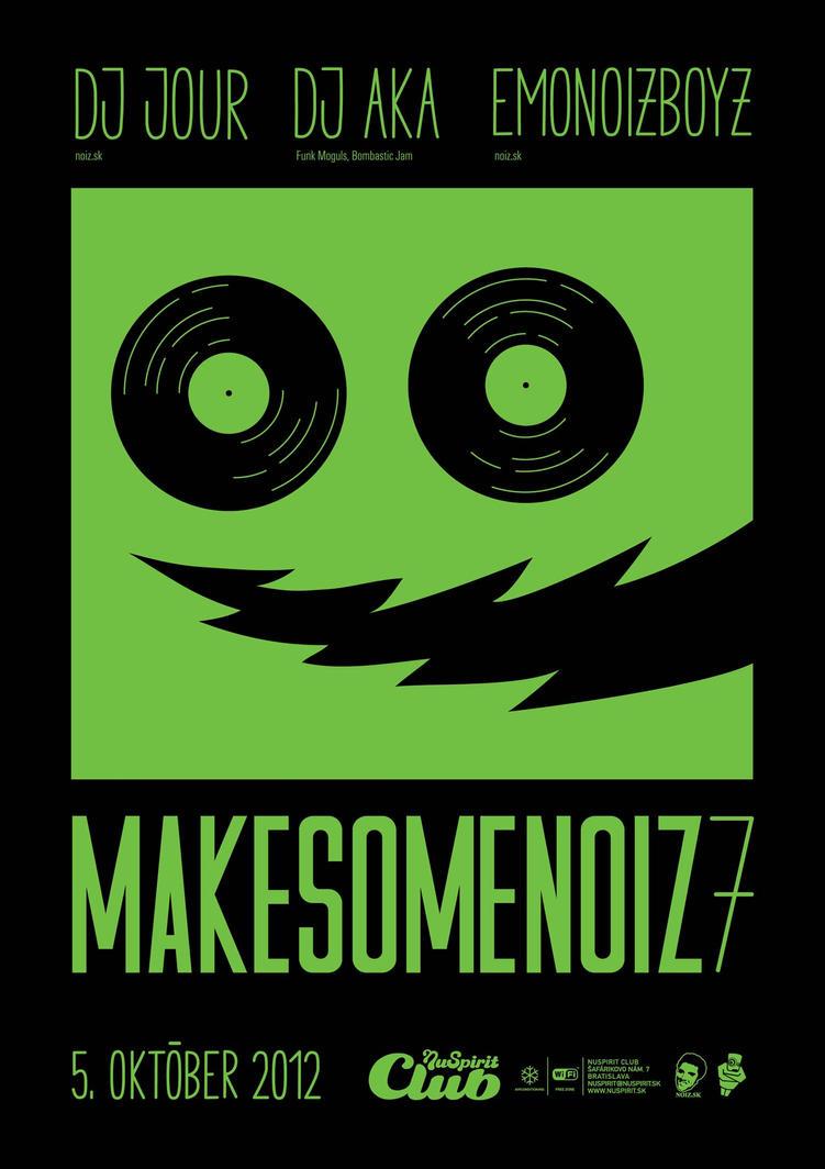 makesomenoiz 7 by sicknico