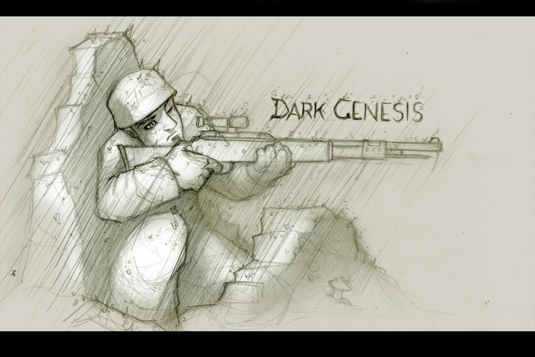 Dark Genesis I by genesis