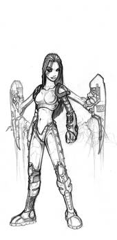 Concept Art Girl B